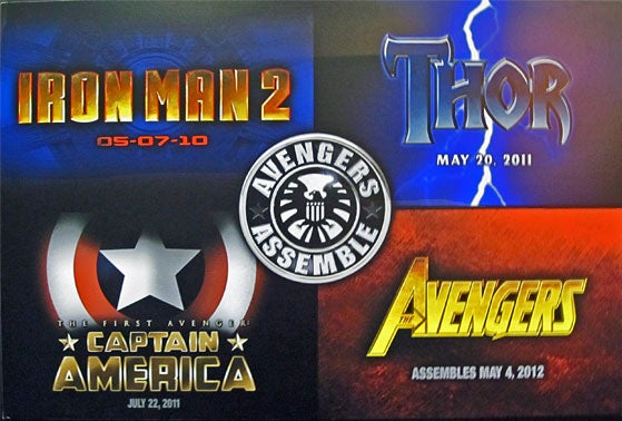 Marvel Assembles The Logos For Its Upcoming Movies