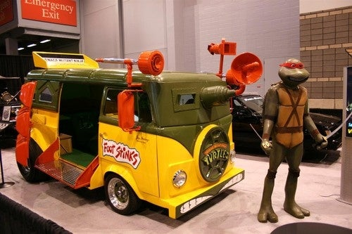 VW Turtle Van