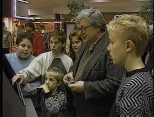 Roger Ebert's Past Game Addiction Made Him Sad