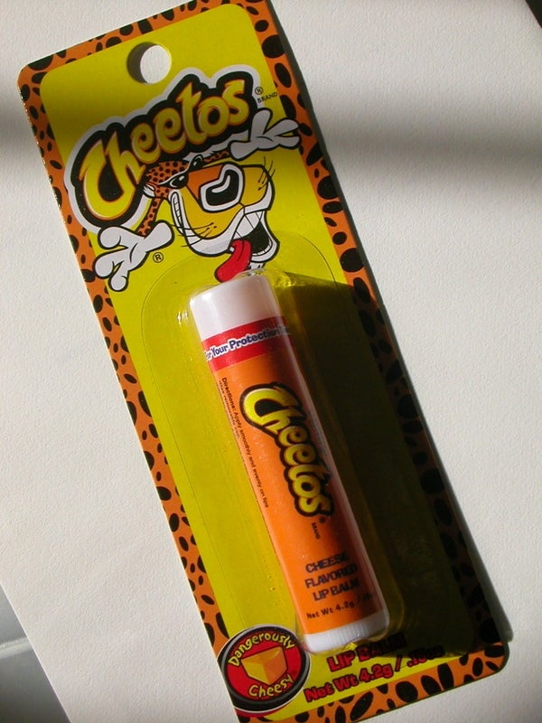 Cheetos Lip Balm Can Restore My Lips and My Manhood at the Same Time