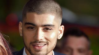 Zayn Malik Appears in Public, Has Shorn His Powerful Locks