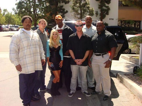 Heidi Montag Has Several Bodyguards In Her Employ