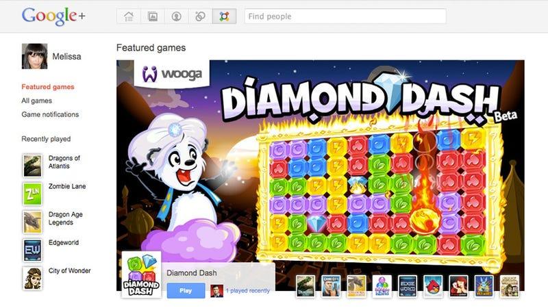 Google+ Adds Games, Minus the Social Games Annoyances