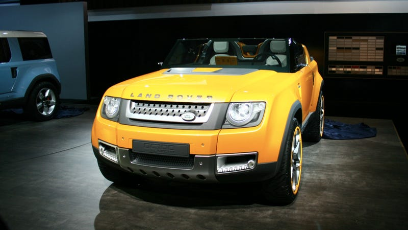 Land Rover DC100 Concept: Are you the new Defender?