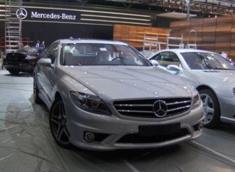 Spy Photos: Mercedes-Benz AMG CL 65