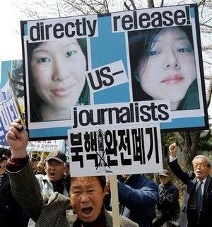 Trial Of Laura Ling, Euna Lee Begins In North Korea