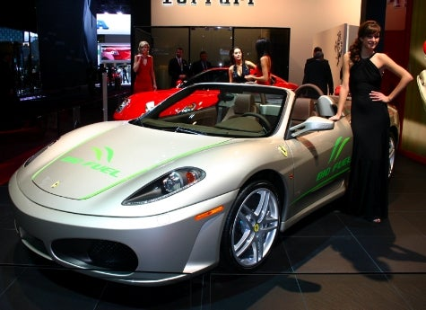 Detroit Auto Show: Ferrari to Reduce Emissions 40% by 2012