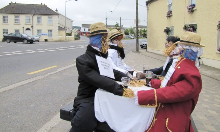 Irish scarecrow contest is 75% The Wicker Man, 25% The Prisoner