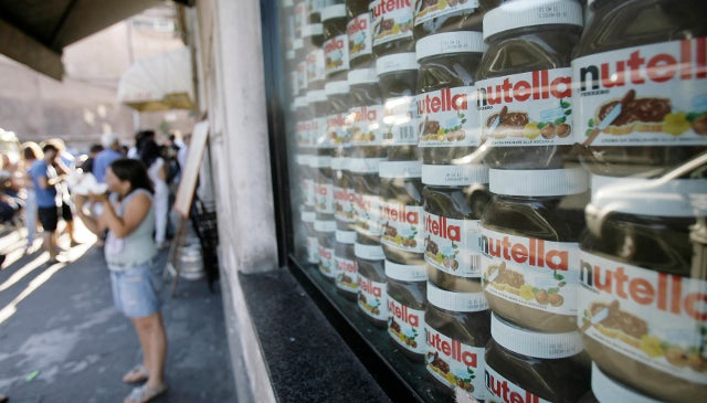 Thieves In Germany Make Away With Five Metric Tons of Nutella