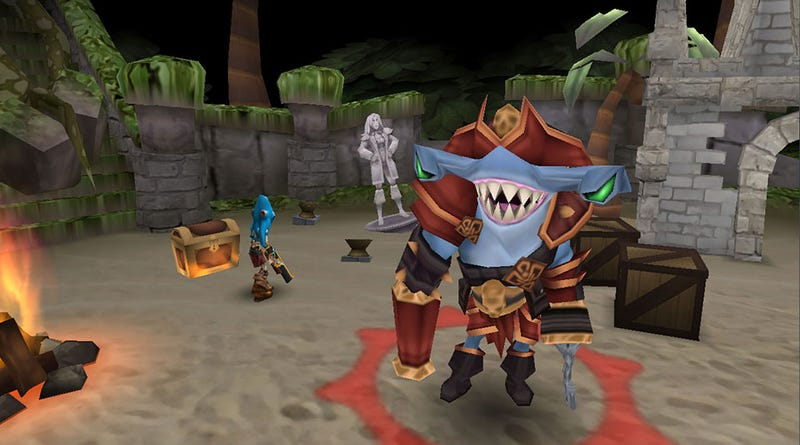 Arcane Legends' Latest Expansion Adds Pirates. And Sharks. And Pirate Sharks.