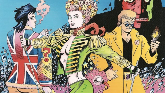 The new League of Extraordinary Gentlemen is a magical mystery tour through Alan Moore's head