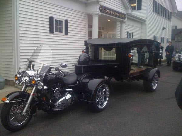 Make Way For the Motorcycle Hearse