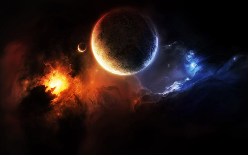 Put Some (Fake) Planets on Your Desktop with These Wallpapers