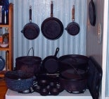 Clean Cast Iron Cookware with a Potato