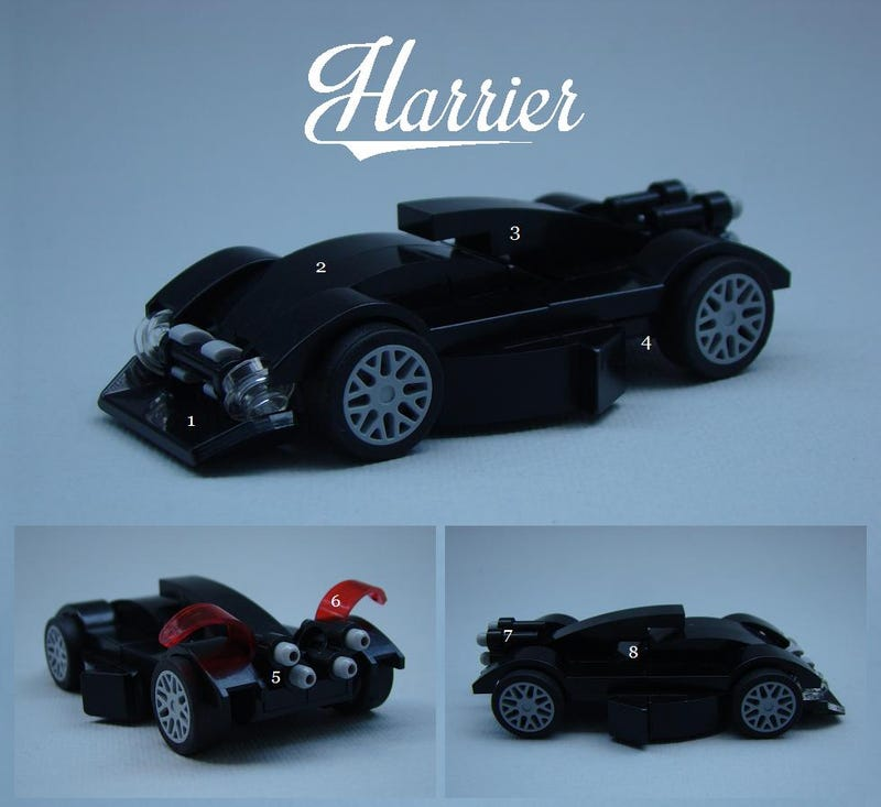 A Design Analysis of a LEGO Car