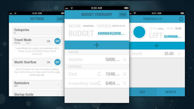 BUDGT Is a Simple Budget-Tracking App that Easily and Quickly Manages Your Expenses