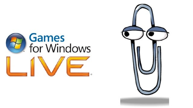 Which Microsoft Creation is More Despised: Clippy? Or Games For Windows Live?