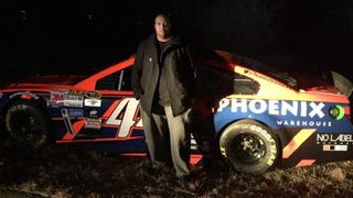 Stolen NASCAR Race Car Found In Suburban Atlanta