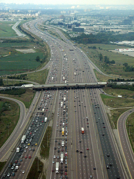 The Busiest Highway in North America