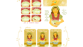 A Webcomic About A Witch Learning To Bake Without Magic—With Recipes!