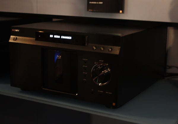 Sony's Prototype 400-Disc Blu-ray Mega Changer Spied in Dark Corner