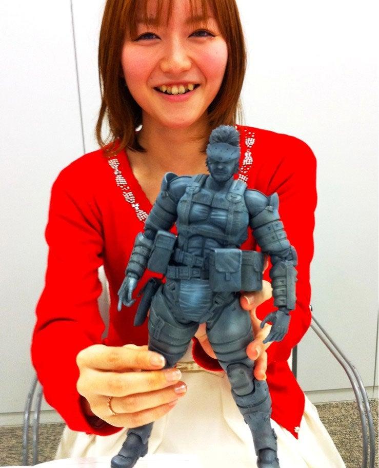 Massive Metal Gear Figure, Or Tiny Hands?