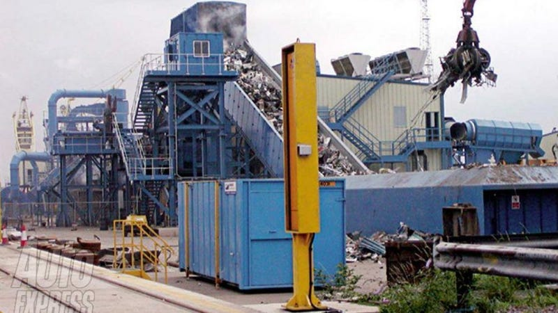 The World's Biggest Auto Shredder Eats 450 Cars an Hour