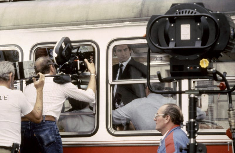 Rare Behind-The-Scenes Photos from the Classic Bond Movies