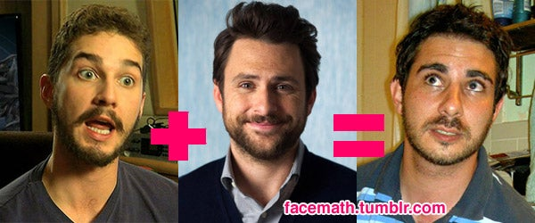 Ingenious Single-Topic Tumblr Combines Two Celebrity Faces to Make a Third