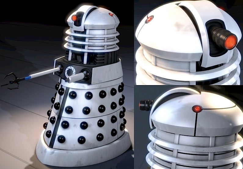 Dalek + Aperture Science = The Doctor Who/Portal mash-up we dread