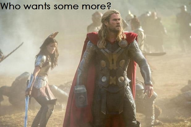 Thor 2.0. Now with 90% more Asgard!