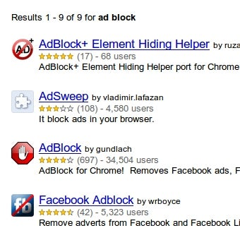 Google Says It's Okay with Ad-Blocking Extensions