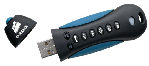 Corsair Flash Padlock 2 USB Drive Has Software and Hardware Encryption for the Ultra Paranoid