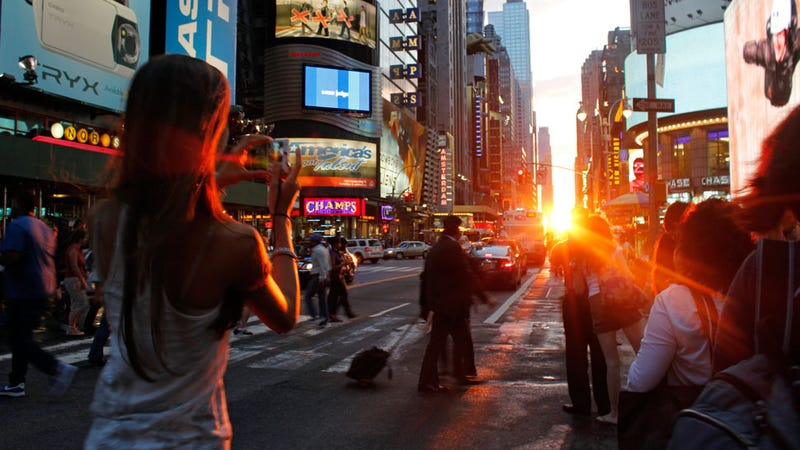 Neil deGrasse Tyson on Manhattanhenge