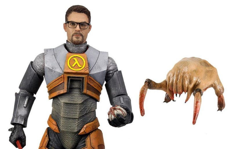 This Gordon Freeman Action Figure is Officially Official