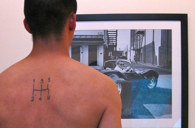Why I Had A 5-Speed Shift Pattern Tattooed On My Back