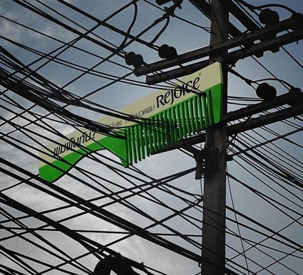 No Conditioner Can Untangle These Power Lines