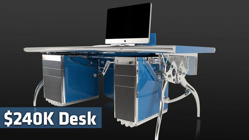 The $240,000 Bugatti über desk