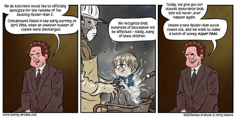 Sunday Comics: An Amazing Honor