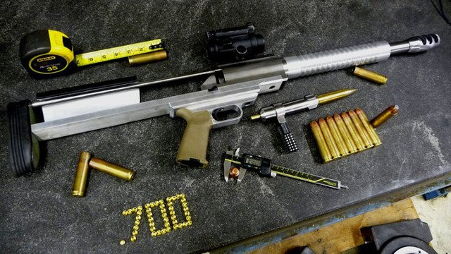 "700 WTF Rifle Redefines ""Boom Stick""...and ""Overkill"""