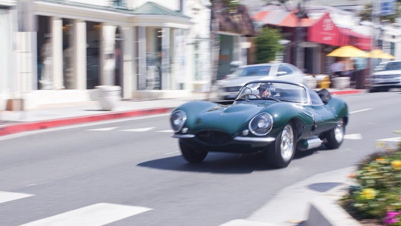 Riding shotgun in Steve McQueen's $10 million Jaguar XKSS