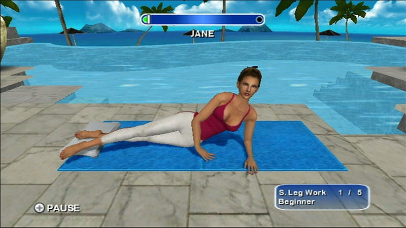 Daisy Fuentes Brings Pilates To The Wii