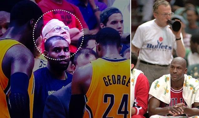 Legendary Heckler Robin Ficker Returned To The NBA Last Night