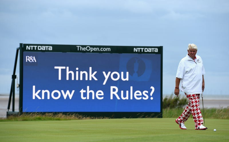 John Daly At The British Open: A Gallery