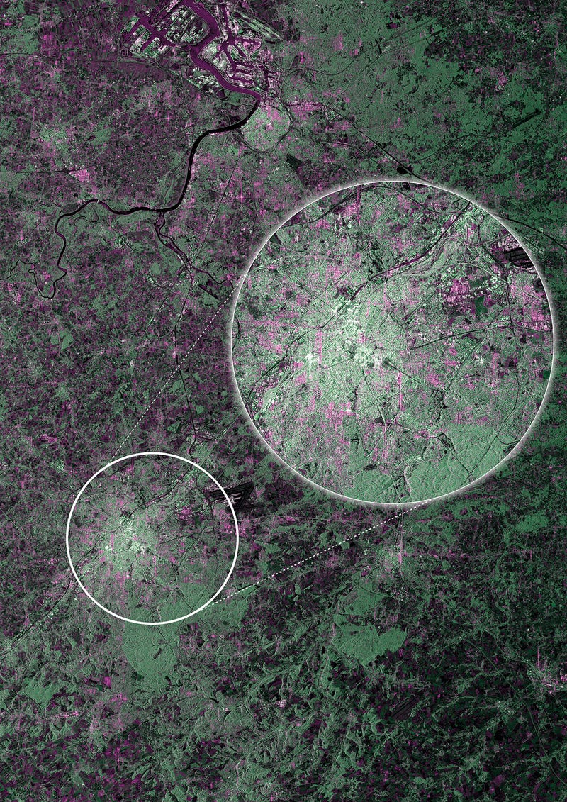 First Breathtaking Images from Europe's New Sentinel Satellite