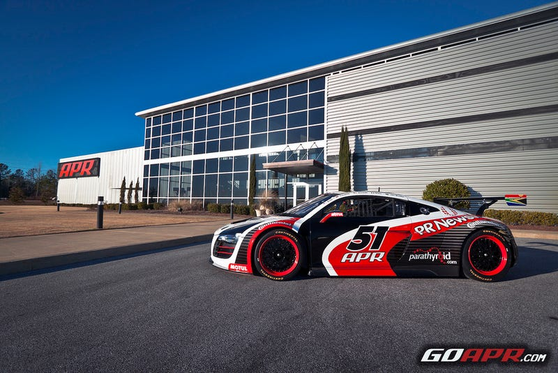 Evil-Looking Audi R8 To Haunt Daytona 24 Hours