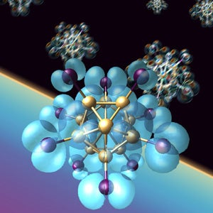 Scientists Build Magnetic Gold Superatoms