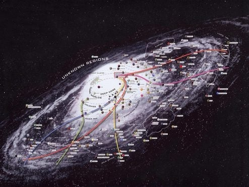 The Star Wars Galaxy Fully Mapped in High Resolution