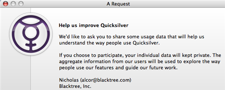 Quicksilver Updates, Prepares for Leopard