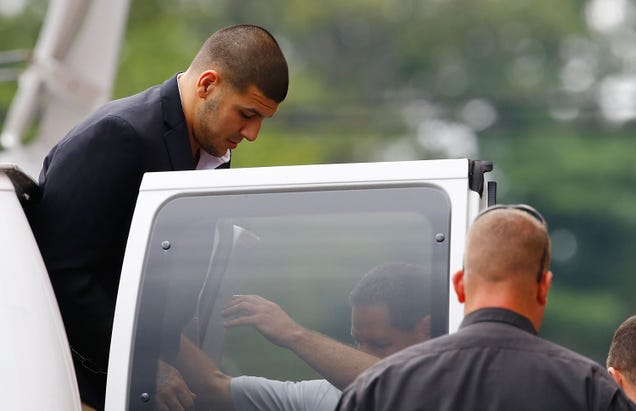 Aaron Hernandez Requests Jail Transfer For His Own Safety